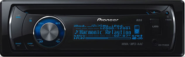 DEH-P5100UB PIONEER ΡΑΔΙΟ MP3  iPod,USB,AUX IN