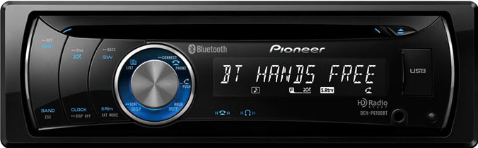 DEH-P6100BT PIONEER ΡΑΔΙΟ MP3,USB,BLUETOOTH