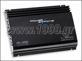 PS-1200 ΕΝΙΣΧΥΤΗΣ POWER STRIKE 4X300W