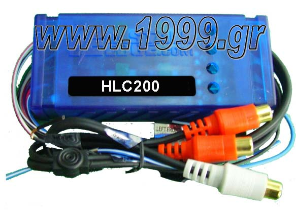 HL-C200 NEW SOUND ADAPTOR HI ΣΕ LOW ME REMOTE
