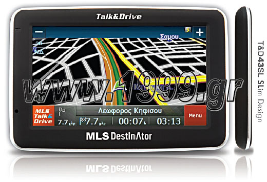 MLS DESTINATOR TALK & DRIVE 43SL + ΔΩΡΟ ΕΓΚ/ΔΕΙΑ